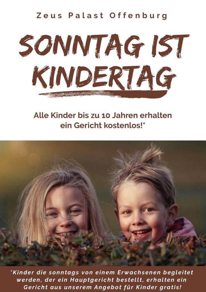 Sonntagsangebot für Kinder und Familien